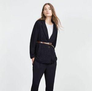 BNWT Zara Boyfriend knit jacket